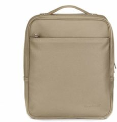 "Beige Bombata Backpack PARIS CLASSIC 15,6"" Small - TAUPE"