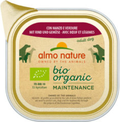 Almo Nature Alu Daily Menu Bio Adult 100 g - Hondenvoer - Rund&Wortel