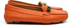 Emmen schoenen ESM 016 2793 moccasin gesp oranje, ,37 / 4