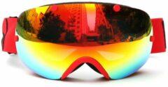 Pakketexpert Skibril Small / wintersport (rood) met polariserende glazen - Brand New!