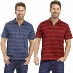 Rode Merkloos / Sans marque ''merkloos'' Unisex Poloshirt M