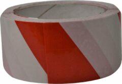 Verlofix Vloermarkeringtape 50 Mm X 33 M Pvc Rood/wit