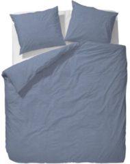 Essenza Guy dekbedovertrek - 100% katoen - 1-persoons (140x200/220 cm + 1 sloop) - 1 stuk (60x70 cm) - Blauw