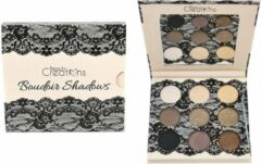 Beige Beauty Creations Boudoir Eyeshadow Palette - 9 Matte & Shimmer Shades - E9BSB
