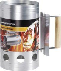 Roestvrijstalen BBQ Collection Barbecue starter - houtskool starter - metaal - 27x16cm