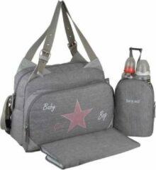 BABY ON BOARD Baby aan boord-luiertas - titou gebeitst stenen tas - 2 compartimenten 8 zakken - lunch tas - aankleedkussen tas vuile was bevestigingsmiddelen