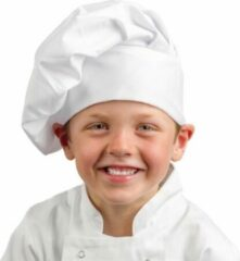 Whites Chefs Clothing Whites koksmuts voor kinderen wit
