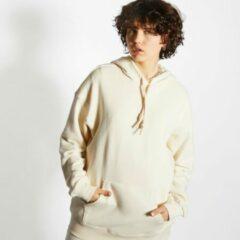 Witte Adidas No Dye Over The Head - Dames Hoodies - White - Katoen Fleece - Maat 36 - Foot Locker
