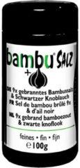 Bambu® Salz Bambu salz Bamboezout 9x gebrand met zwarte knoflook - 100 gram