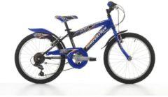 Cicli Cinzia 20 ZOLL CINZIA FLIPPER BOY JUNGEN FAHRRAD 6-GANG Kinder schwarz-blau