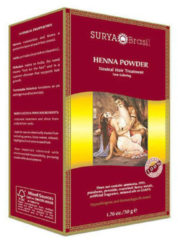 Surya Brasil Haarmasker Henna Poeder Neutraal 50 gram