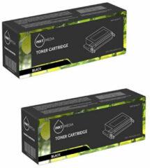 Inktmedia® - Toner Cartridge - Alternatief Voor De Samsung Mlt-d1042s (Su737a) Ml1660 Toner Zwart 2x