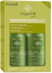 Inoar Argan Oil Keratine Treatment Keratin Shampoo & Conditioner 2x250ml
