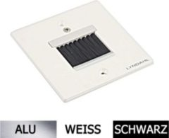 Lyndahl LKB011 hochwertige Blende mit Bürstenauslass Farbe: Weiß