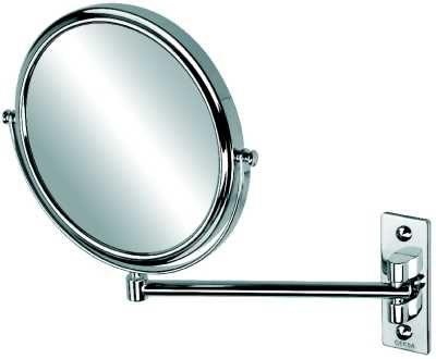 Afbeelding van Geesa Scheerspiegel, 1 arm, normaal en 3x vergrotend, diameter 200 mm Mirror collectie
