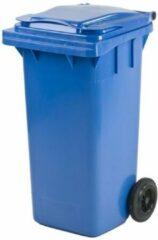 Mijn Afvalbak.be Kunststof Rolcontainer Afvalcontainer Antwerpen Mini-container 140 liter blauw