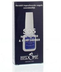 Herôme Herome SOS Nail Repair - 10 ml - Herstelt Ingescheurde Nagels Onmiddelijk