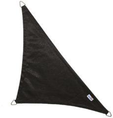 Nesling Coolfit schaduwdoek driehoek 90 graden zwart - 4.0 x 4.0 x 5.7 meter