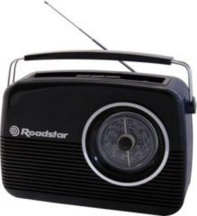 RoadRoadstarTRA1957 BL Kofferradio Batterie und Netz Schwarz