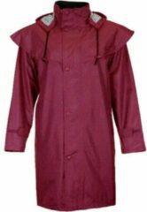 JC Blue Regenjas - Rode regenjas - Dames Regenjas Maat XL