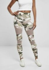 Urban Classics Sportlegging -4XL- Camo Tech Mesh Multicolours