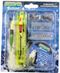 GAME ON FISHING Gof vis accessoires set