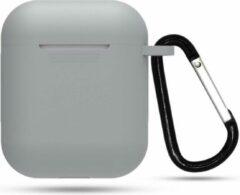 YPCd® Apple AirPods Hoesje - Grijs - Soft case
