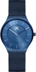 Blauwe Danish Design watches edelstalen dameshorloge Långeland All Blue Medium IV69Q1259