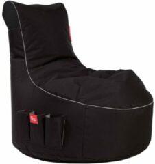 Maison Home Maison's Game Zitzak - Zitzak - Bean Bag - Gaming zitzak - Game stoel - Zwart Wit - Polyster - 95x65x90