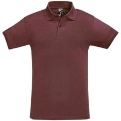 Paarse Polo Shirt Korte Mouw Sols PERFECT COLORS MEN