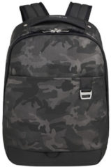 Grijze Samsonite Rugzak Met Laptopvak - Midtown Laptop Backpack S Camo Grey