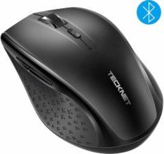 TeckNet Pro Bluetooth Draadloze Muis | 3000DPI / 5 levels - Zwart