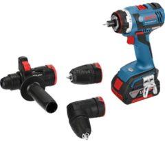 Bosch Power Tools GSR18V-ECFC2SDS-Set - Akku-Bohrschrauber m.SDSplus Hammeraufs GSR18V-ECFC2SDS-Set