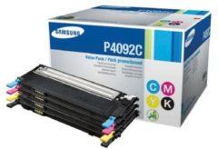 Samsung C / M / Y / K Rainbow Toner Kit (rendement 1000 pagina's Magenta Cyaan (CLT-P4092C)