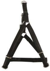 Macleather tuig voor hond zwart 25 mmx60-100 cm