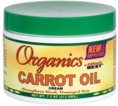 Africas Best Organics Carrot Oil Cream 213 gr