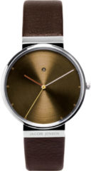 Zilveren Jacob Jensen watches herenhorloge Dimension 843