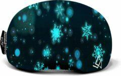 Zwarte Goggle Protect Skibril | skihelm | ski | snowboard | bescherming | cover | hoes | cadeau | goggle | bril | wintersport | beschermhoes