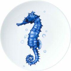 Bord Zeepaardje| Heinen Delfts Blauw | Wandbord | Delfts Blauw bord | Design |