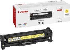 Gele Canon CRG-718 Y Tonercartridge 2900pagina's Geel