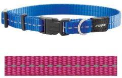 Rogz for Dogs Nitelife Hondenhalsband Verstelbaar Roze 32 x 1,1 cm