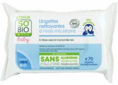 So Bio Etic Baby Micellair Water Cleansing Wipes X70 (270 Gr)