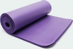 Wiltec Wildanger Technik GmbH Yogamat, Fitnessmat paars 180 x 60 x 1,5 cm gymnastiekmat fitness yoga gym joga vloermat fitniss sportmat fitnis - Multistrobe