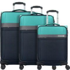 Stream 4-Rollen Kofferset 3tlg. Travelite marine