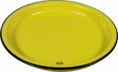 CABANAZ - bord, keramiek, LARGE PLATE, geel