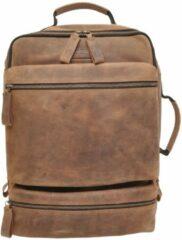 Berba Barbarossa Backpack 15.6'' coffee backpack