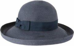 Marineblauwe Emthunzini Hats Zonnehoed dames Gigi EBD128 - marine - 58 cm