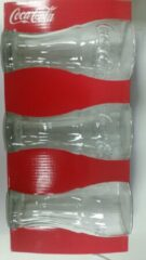 Transparante Originele Coca-cola glazen - 35 CL - 6 stuks