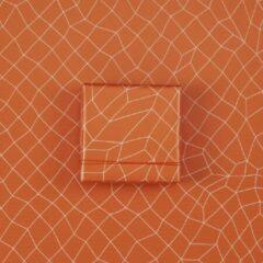Paperoni - Tilted - luxe cadeaupapier - inpakpapier - rol met bijpassend koord - oranje