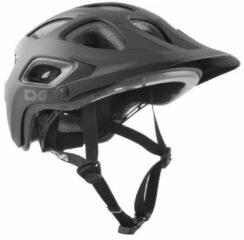 Grijze TSG - Seek - Fietshelm maat L/XL zwart/grijs